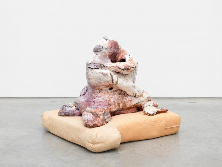 a sculpture by artist jessica jackson hutchins available for sale at marianne boesky gallery