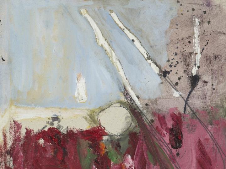 Gene Davis Untitled 1957