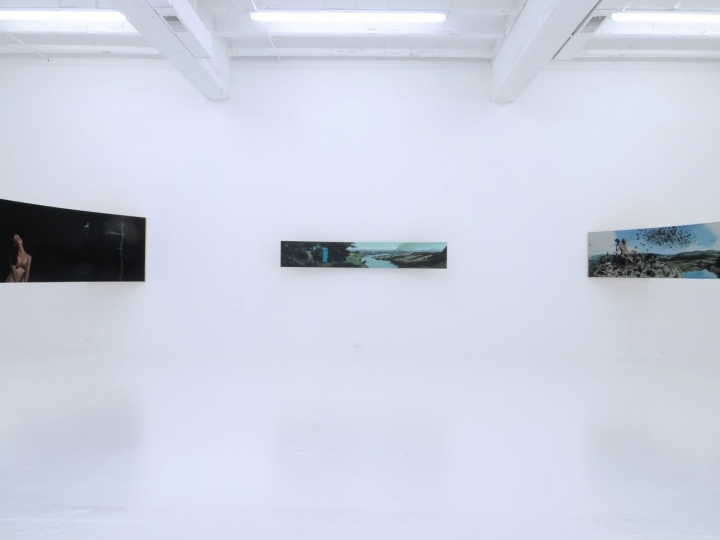 ERIK THOR SANDBERG Reparatory Gestures 2011. Installation view: Conner Contemporary Art.