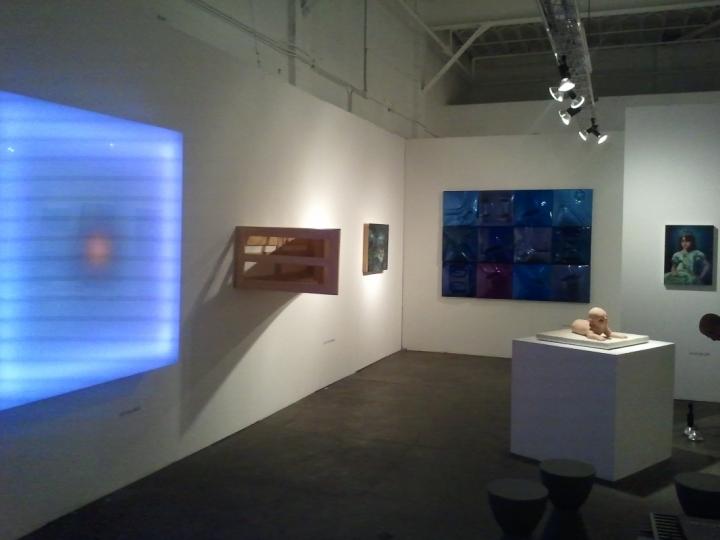 LEO VILLAREAL, PATRICIA PICCININI, ERIK THOR SANDBERG, KATIE MILLER and NATHANIEL ROGERS 2011. Exhibition view: PULSE Miami.