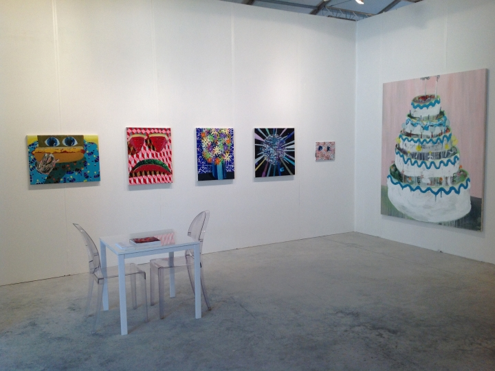 PHILIP HINGE  Misplaced Affections  2013. Installation view: booth E77, CONTEXT, Miami, FL