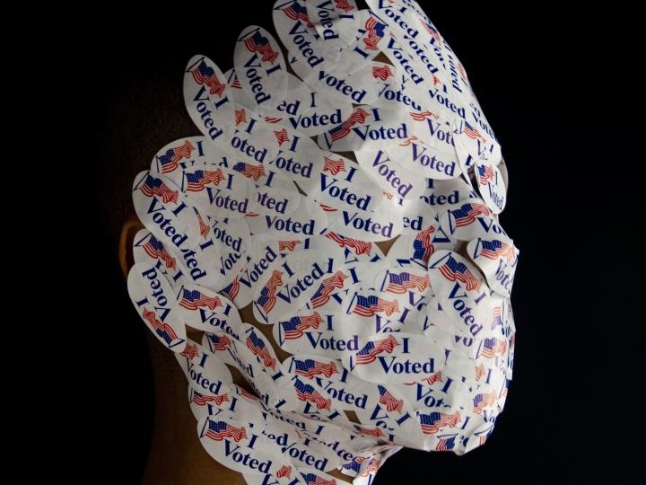 Wilmer Wilson IV, Model Citizen (I Voted) Head
