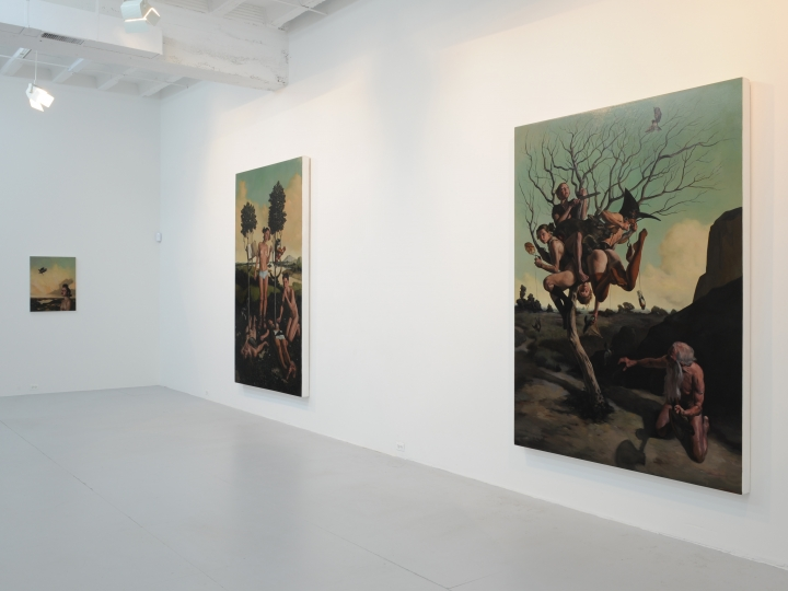 ERIK THOR SANDBERG Cyclical Nature 2009. Installation view: Conner Contemporary Art.