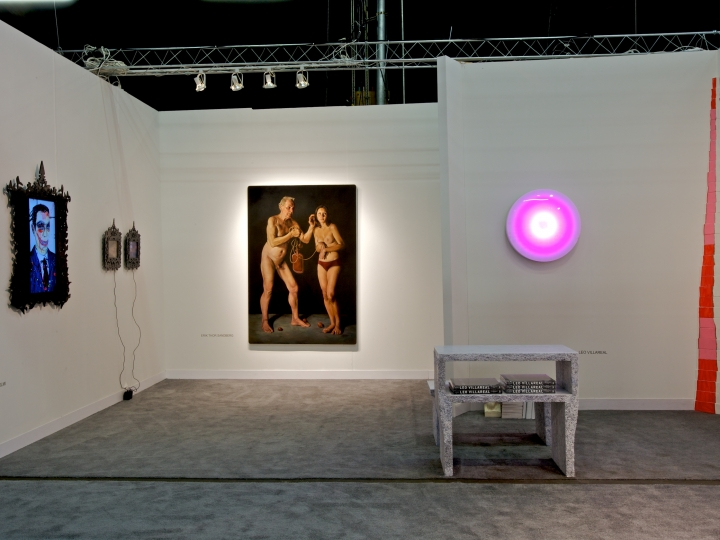 CONNER CONTEMPORARY ART 2011. Installation view: booth 847, The Armory Show.