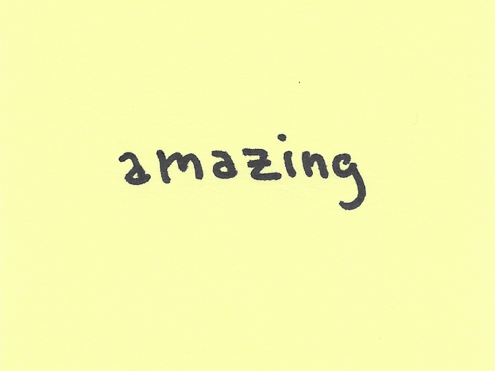 Joe Ovelman Post it series X amazing