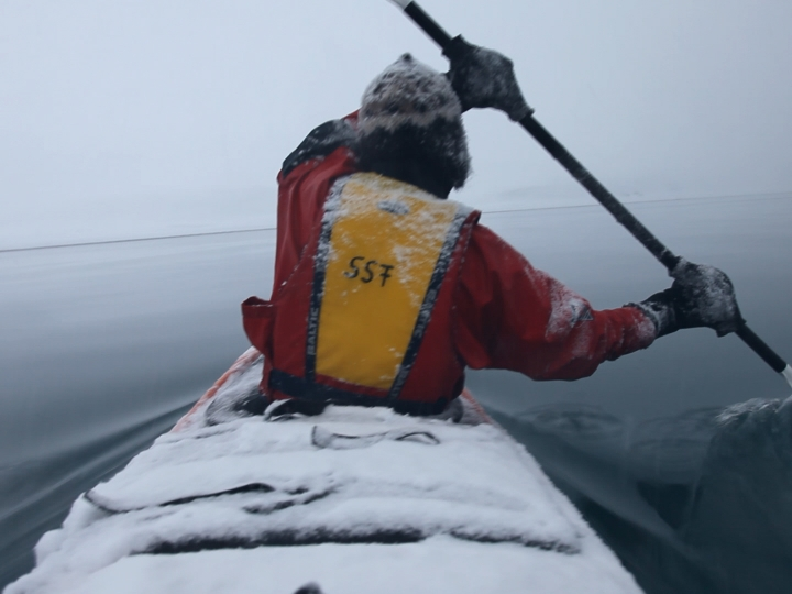 JANET BIGGS Fade to White (production still from Arctic Trilogy)