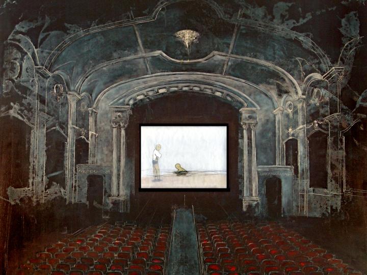 AVISH KHEBREHZADEH A Swim Movie in Theater