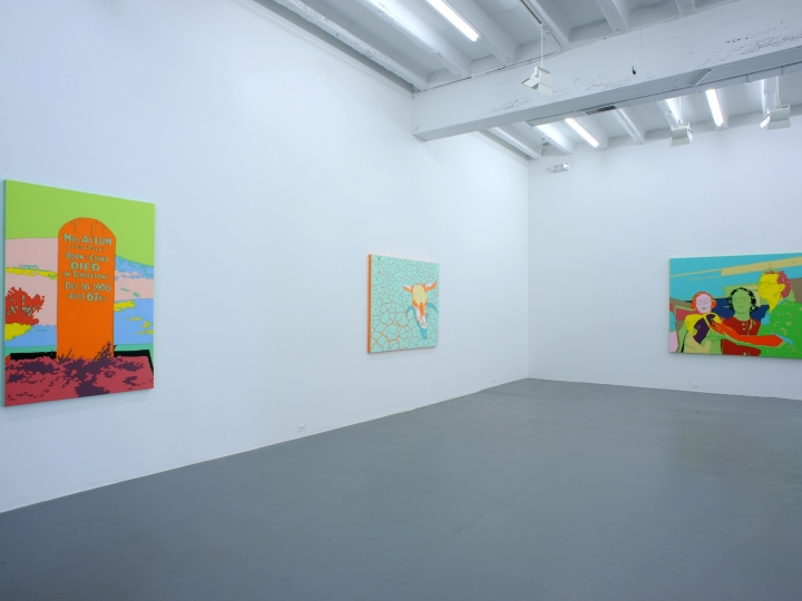 LISA RUYTER Let us now Praise Famous Men 2012. Installation view: CONNERSMITH.