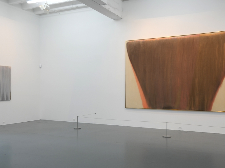 HOWARD MEHRING and MORRIS LOUIS Conversations in Lyrical Abstraction 2009. Installation view: Conner Contemporary Art.