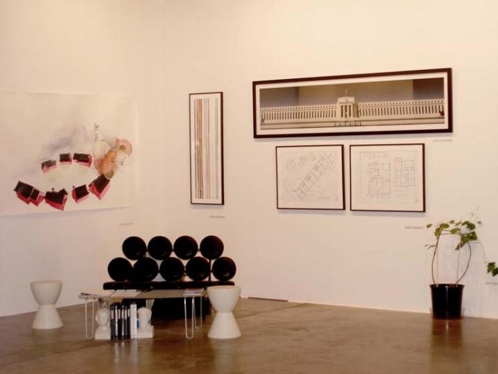 2007. Installation view: booth 215, ART DC.