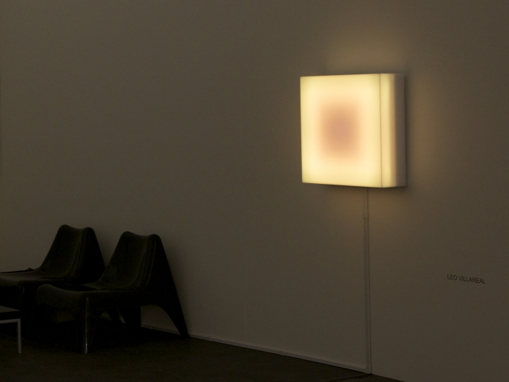 LEO VILLAREAL 2013. Installation view: booth B7, VOLTA9 Basel