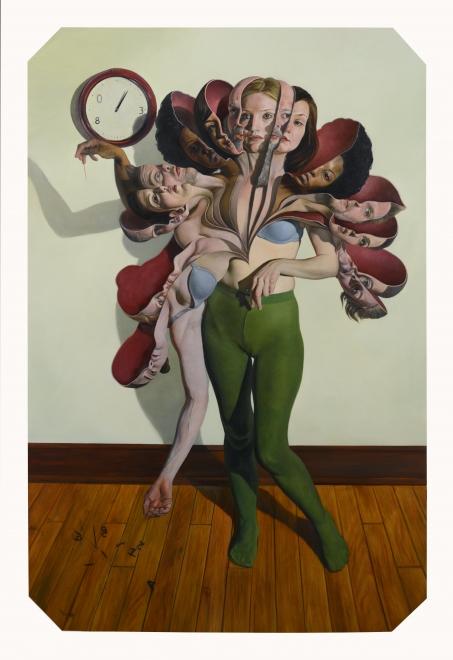 Erik Thor Sandberg  Blossom II, oil on panel