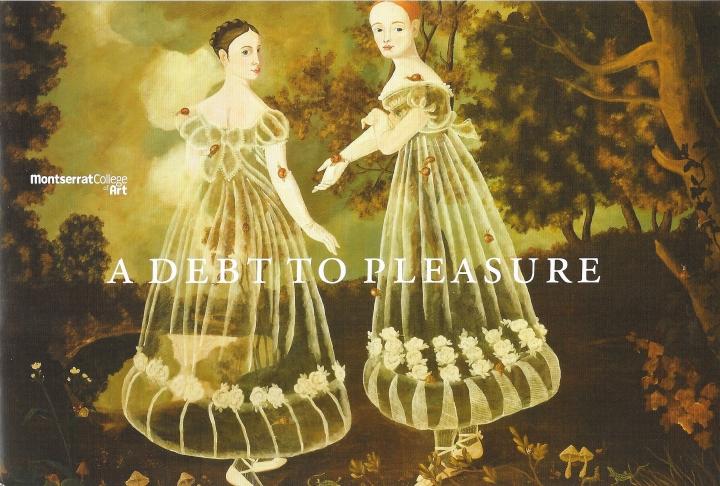 A Debt To Pleasure 2012 catalogue cover
