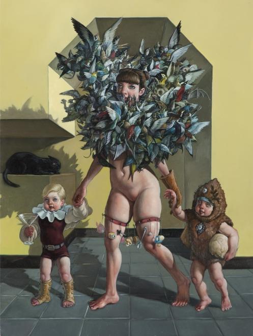Erik Thor Sandberg, Shephard, painting