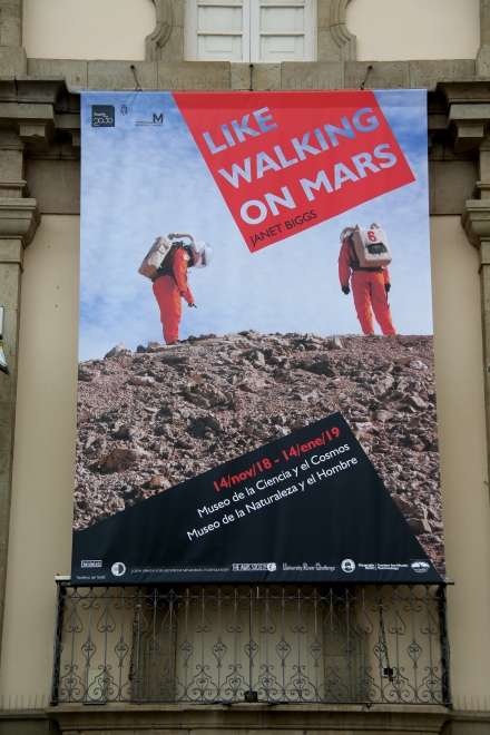 Janet Biggs: Like Walking on Mars, Museo de la Naturaleza y el Hombre, Santa Cruz de Tenerife, Spain and Museo de la Ciencia y el Cosmos, La Laguna, Tenerife, Spain