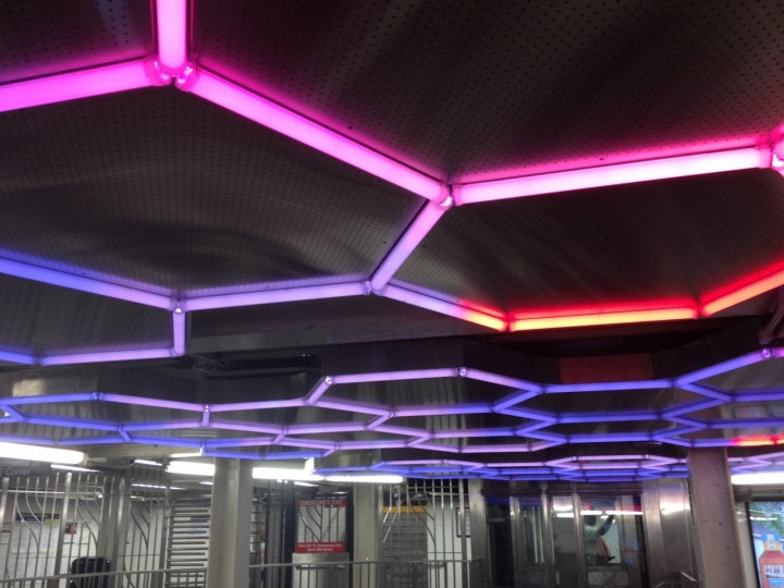 Leo Villareal Lights Up Underground