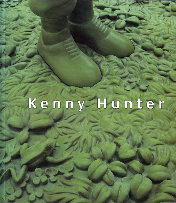 Kenny Hunter Work 1995-1998 catalog cover
