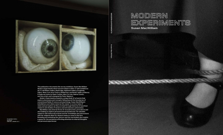 Modern Experiments catalog cover