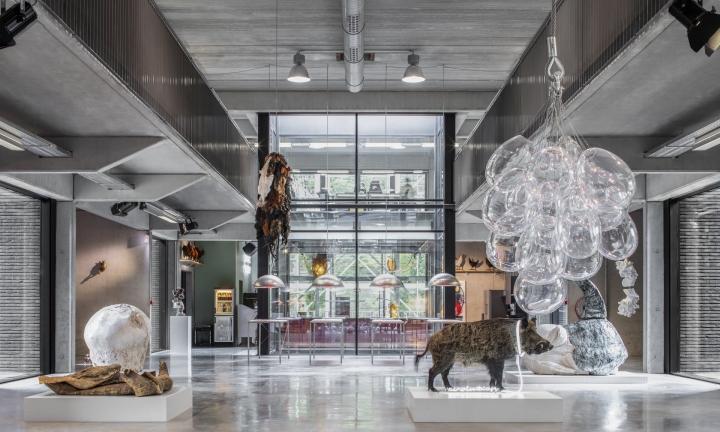 Koen Vanmechelen's creations on show at Labiomista in Genk, Belgium. Photograph: Jeroen Verrecht