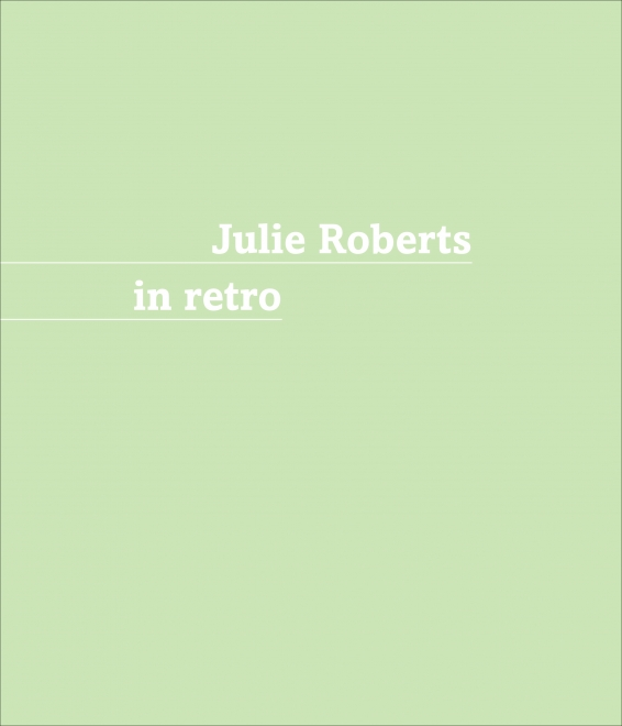 Julie Roberts In retro catalog cover