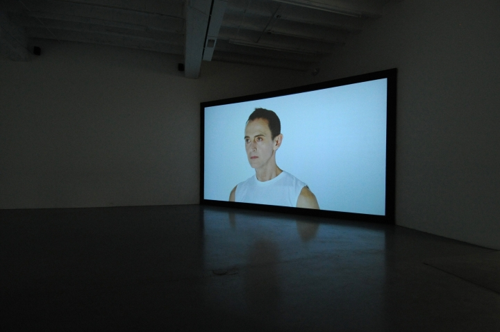 janet BIGGS Fade to White (video still from Arctic Trilogy)