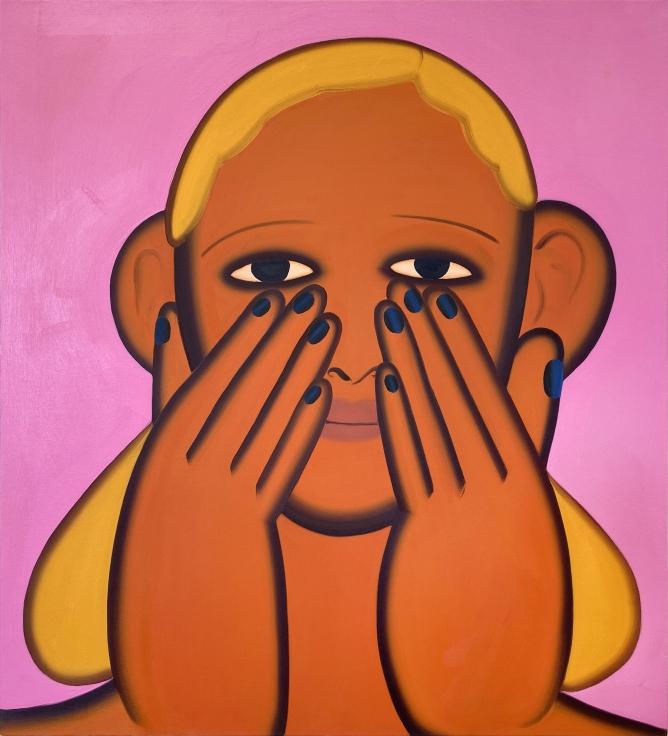 GRACE WEAVER Untitled Portrait (Palindrome), 2020