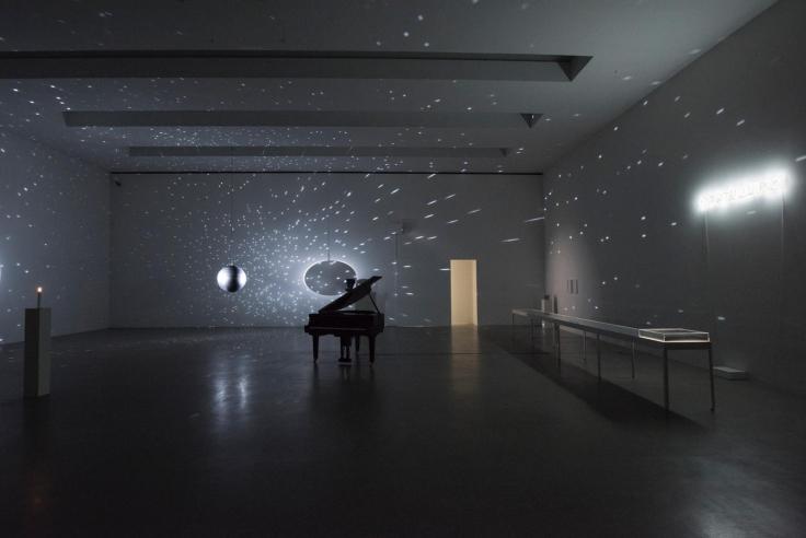 Installation view,Katie Paterson, Centre PasquArt, Biel, Switzerland, September 11 - October 20, 2016,