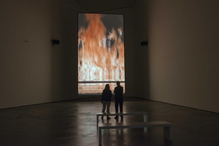 BILL VIOLA, Installation view, Bill Viola: A Retrospective, Guggenheim Museum, Bilbao, Spain, June 30 – November 9, 2017