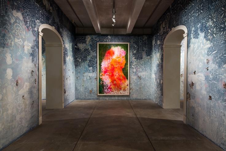 FIRELEI BÁEZ, Installation view:Firelei Báez: Bloodlines, The Andy Warhol Museum, Pittsburgh,PA, February 17 – May 21, 2017