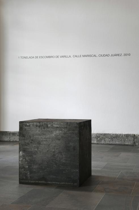 TERESA MARGOLLES, Cubo, 2010