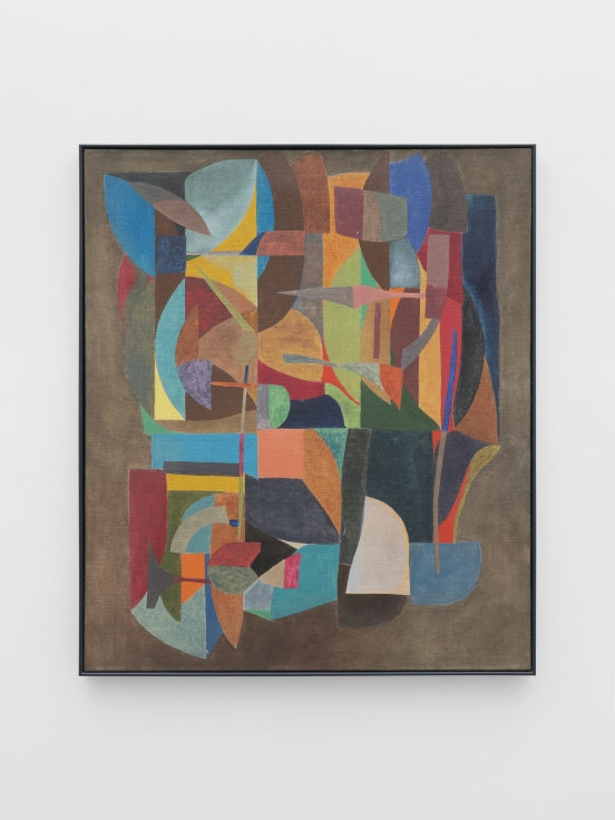 Colored abstract shapes