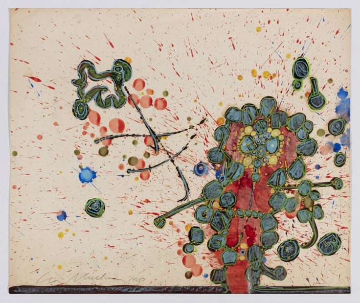 LEE MULLICAN Angry Act,1965