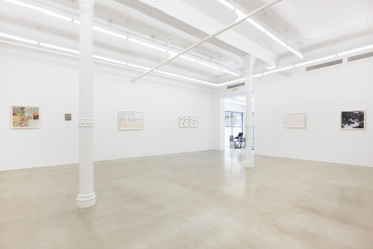 SPENCER FINCH,The Brain is deeper than the sea,James Cohan LES, 2018, installation view.