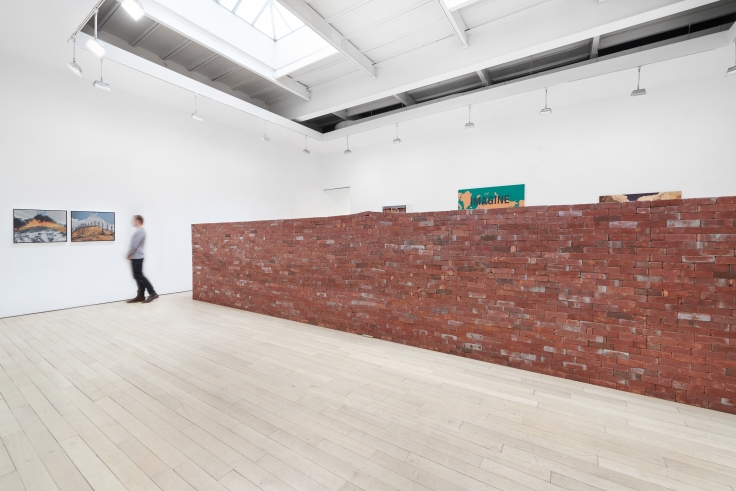Borders,installation view at James Cohan, 533 West 26 Street,January 10 - February 23,2019.