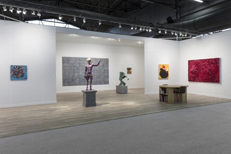 The Armory Show, installation view, 2018