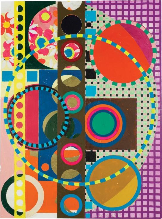 , Maracaiola, 2015, Acrylic on canvas, 31 1/4 x 23 3/16 inches, 79.5 x 59 cm