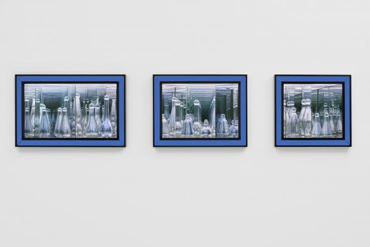 JOSIAH MCELHENY Three Twilight Labyrinths (Laboratory), 2019
