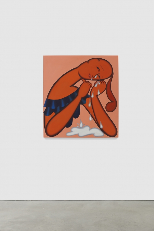 GRACE WEAVER Crying (II, Downwards), 2020