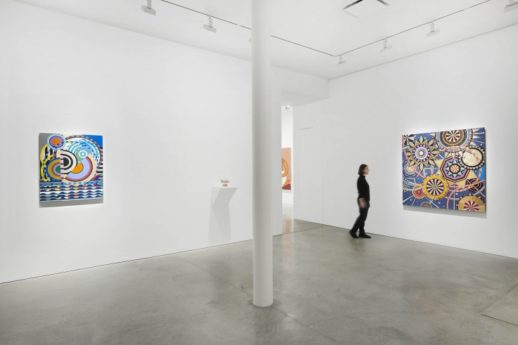 Installation view of group exhibition James Cohan: Twenty Years at 48 Walker Street