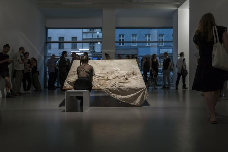 TERESA MARGOLLES, Sutura, Fabric from Guadalajara, 2011-2018