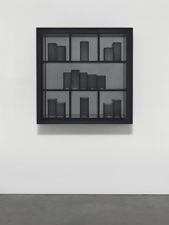 JOSIAH MCELHENY, Grey Prism Painting III, 2016