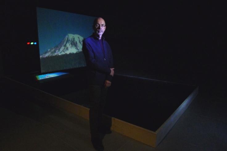 BILL VIOLA, Moving Stillness:MountRainier 1979