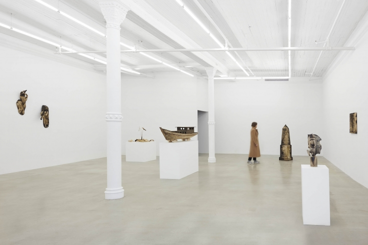 Installation view, Tuan Andrew Nguyen, A Lotus in a Sea of Fire,291 Grand Street,February28 - May3, 2020,