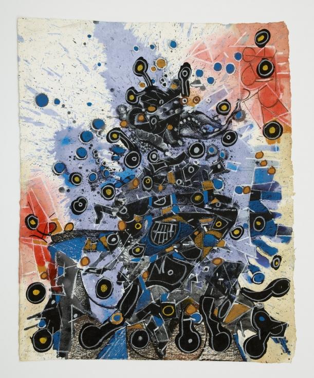 LEE MULLICAN Untitled,1966