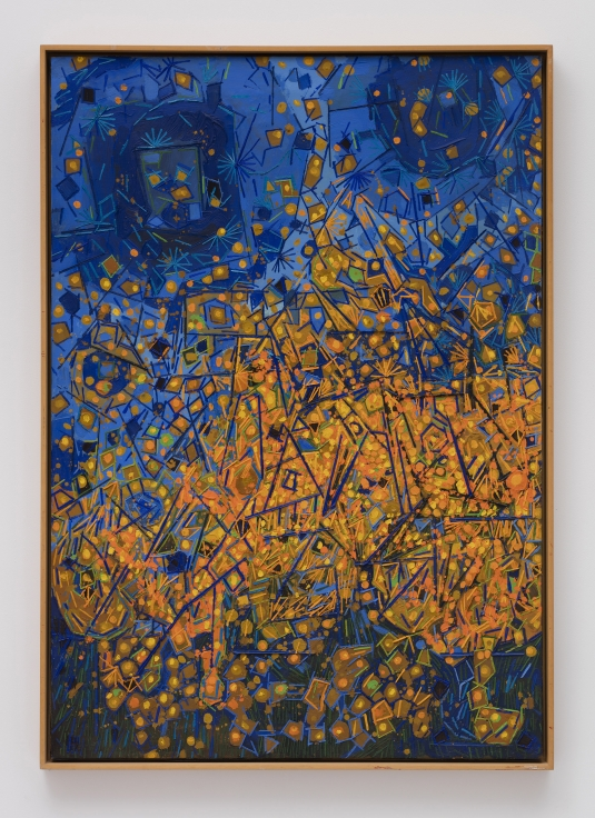 LEE MULLICAN Entrance of the Entertainers,1967