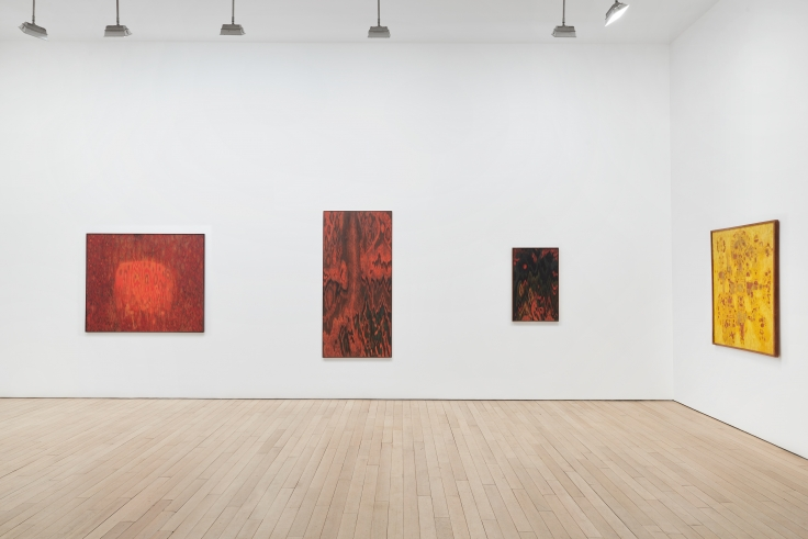 Lee Mullican: Cosmic Theater,installation view at James Cohan, 533 West 26 St, March 7 - April 20, 2019