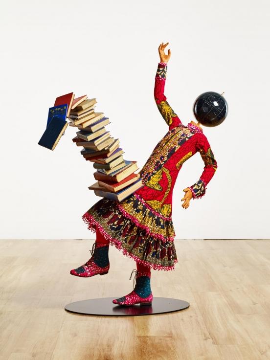 YINKA SHONIBARE, CBE, Girl Balancing Knowledge II,2016