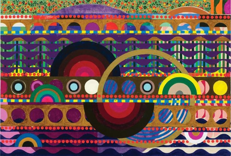 , Mariorola, 2015, Acrylic on linen, 31 1/4 x 46 7/16 inches, 79.5 x 118 cm