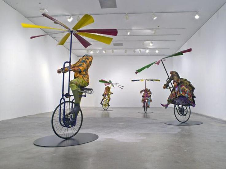 YINKA SHONIBARE, CBE, Installationview,Yinka Shonibare, CBE, A Flying Machine for Every Man, Woman and Child,Perez Art Museum, Miami, FL,October31, 2008- January18, 2009