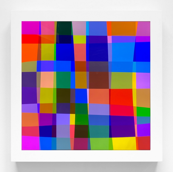 SPENCER FINCH Color Test (133)